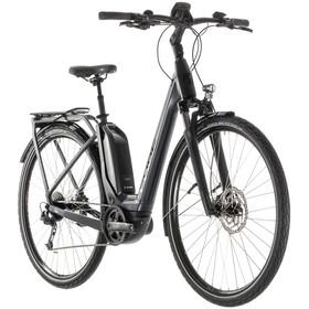 Cube Touring Hybrid 500 E-trekkingcykel Easy Entry grå